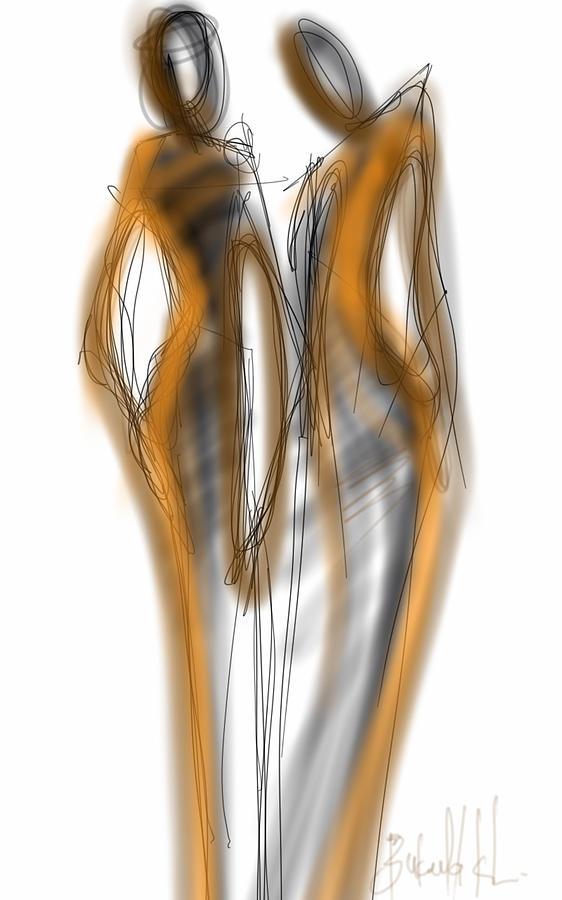 Models Digital Art by Khaya Bukula