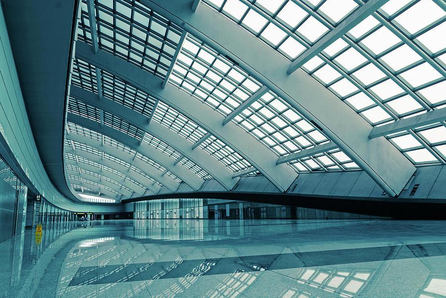 Modern Architectural Details Photograph by Bjdlzx