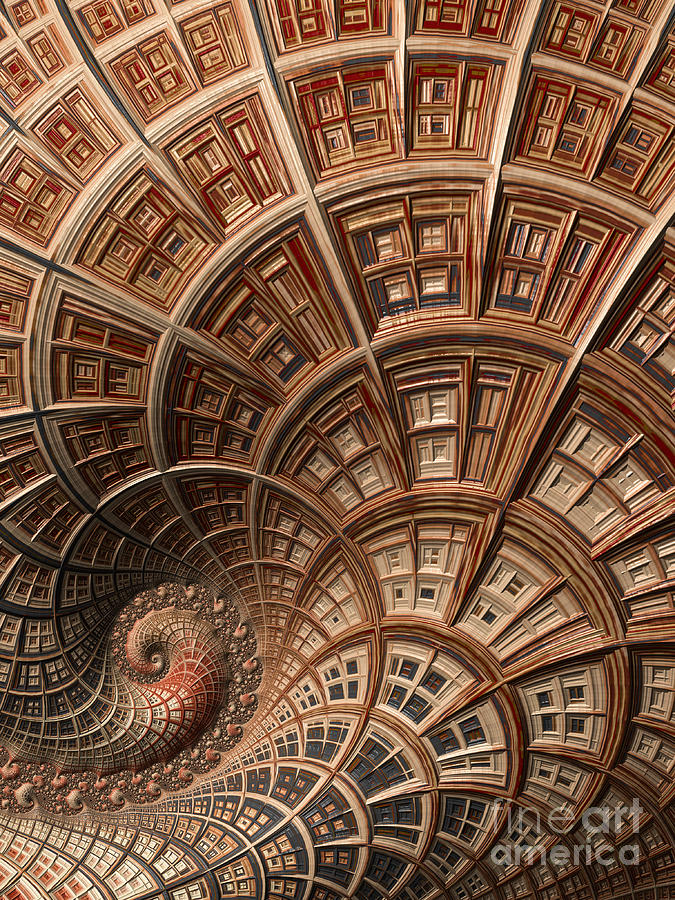 Artistic Digital Art - Modern Architecture  by Heidi Smith