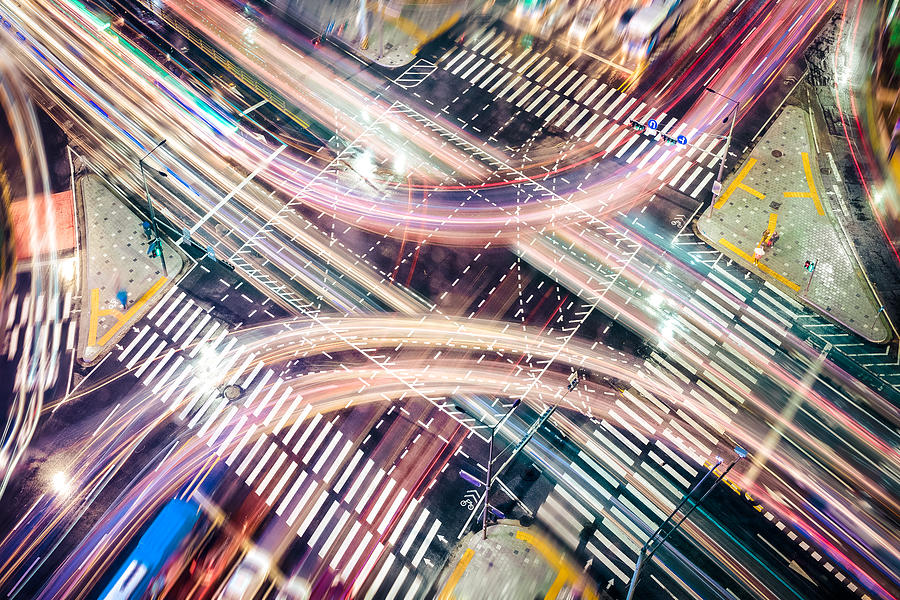 Modern City Concepts: Intersection Drawing by Uschools