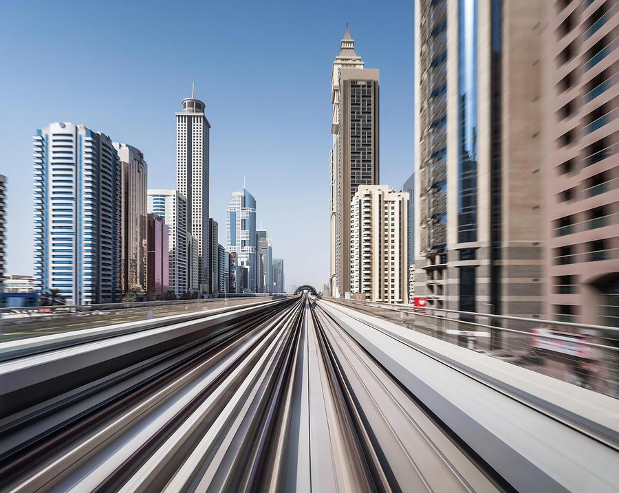 Modern Dubai Photograph by Yongyuan Dai