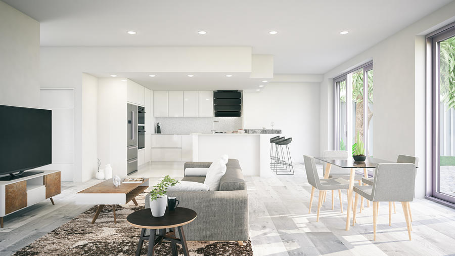 Modern Interior Photograph by Asbe