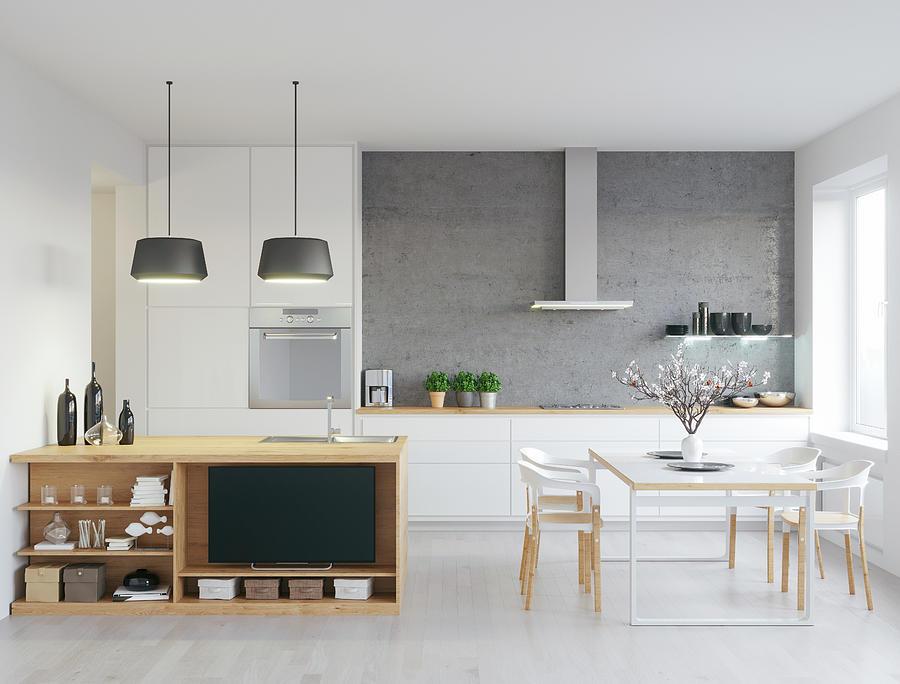 Modern kitchen Photograph by Lookslike
