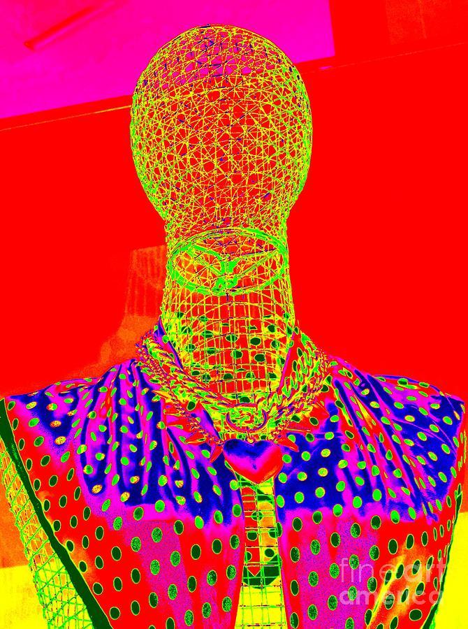 Mannequins Digital Art - Modern Mesh Mosaic by Ed Weidman