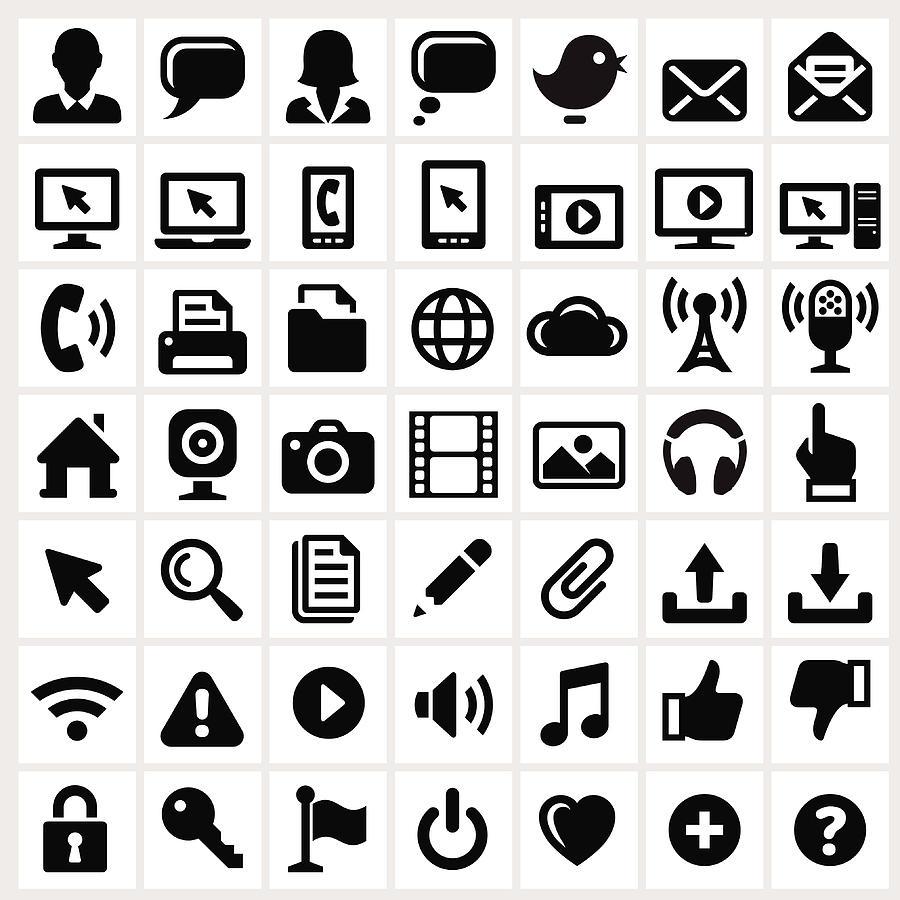 Modern Technology Internet Social Digital Art by Bubaone