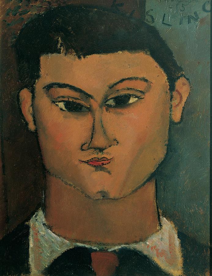 Painter Photograph - Modigliani Amedeo, Portrait by Everett