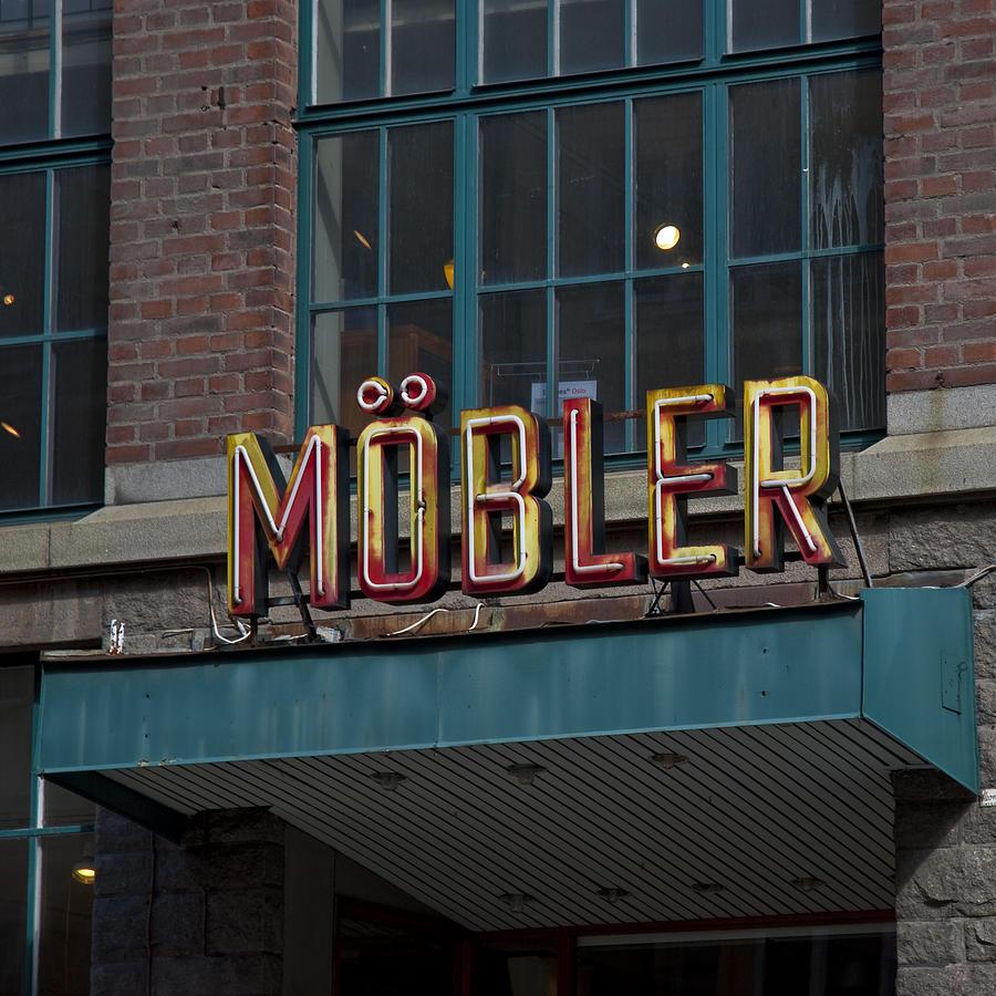 Stockholm Photograph - Moebler by John Magnet Bell