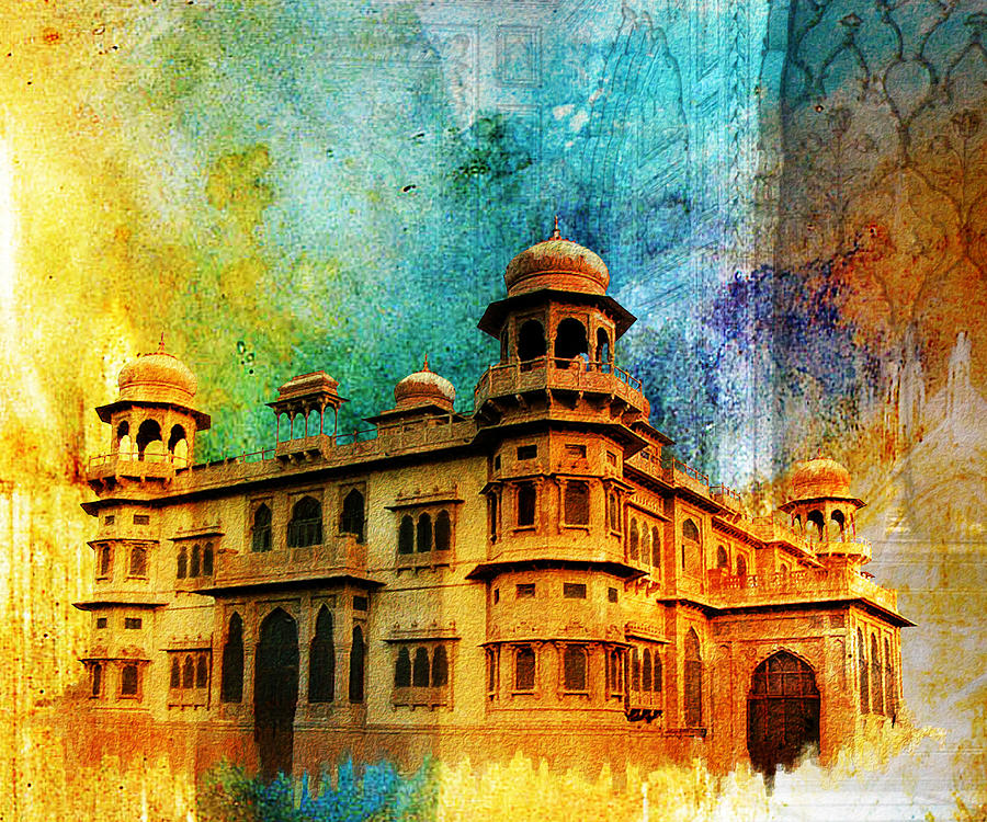 Pakistan Painting - Mohatta Palace by Catf