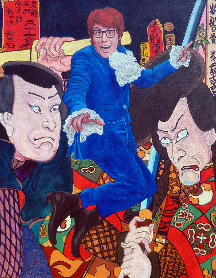 Austin Powers Painting - Mojo Baby by Tom Roderick