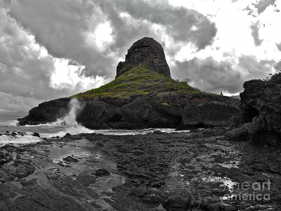Hawaii Photograph - Mokolii Island by Brian Governale