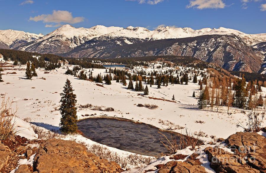 Molas Pass Photograph - Molas Pass Winter by Kelly Black
