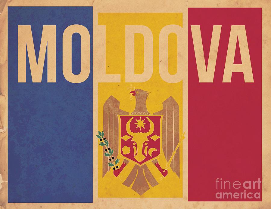 Moldova Digital Art - Moldova by Megan