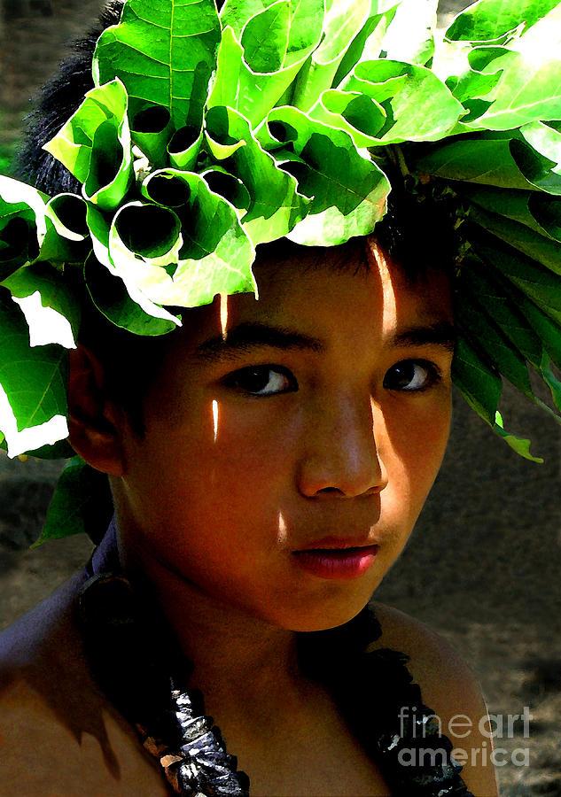Hawaii Photograph - Molokai Keiki Kane by James Temple