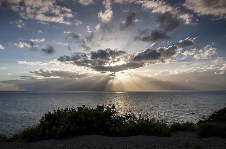 Hawaii  - Molokai Sunset by Charlie Osborn