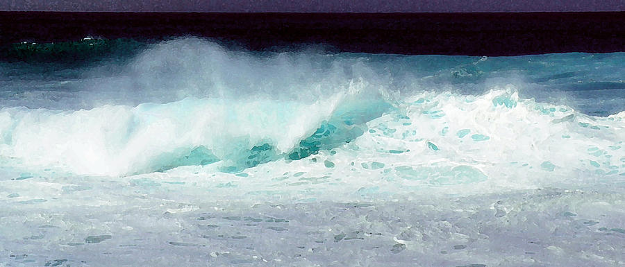 Iphone Cases Photograph - Molokai Surf by James Temple