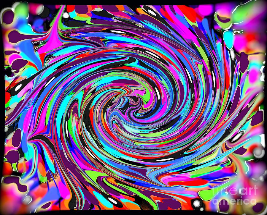 Molten Color Digital Art by RJ Aguilar