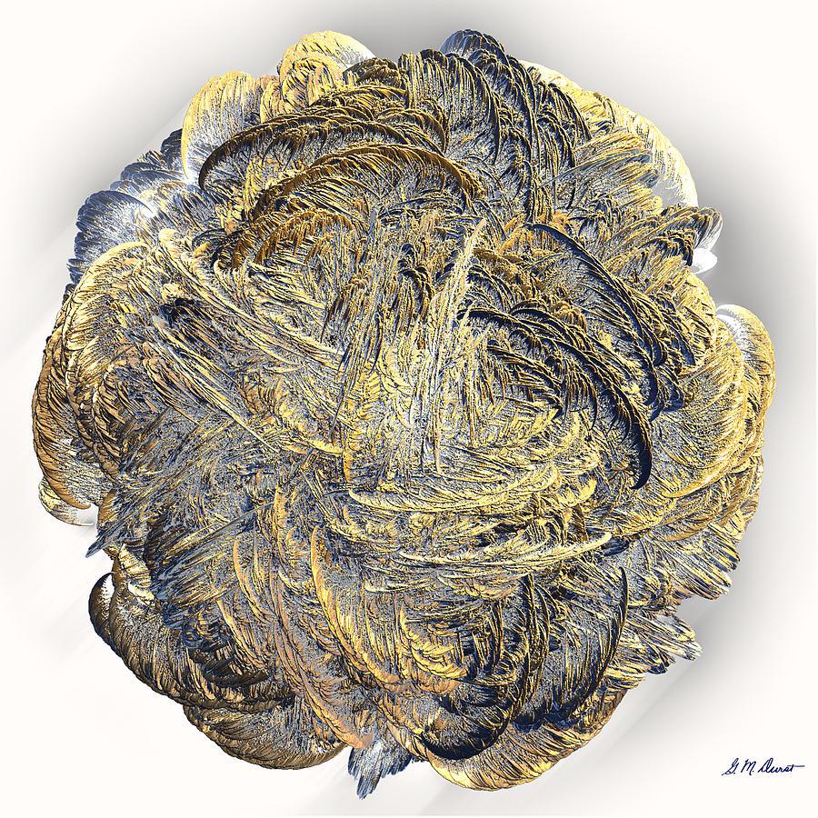 Fractal Digital Art - Molten by Michael Durst