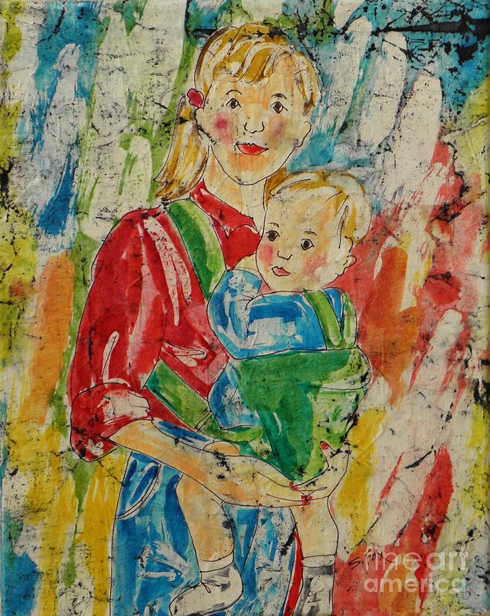 Mom and Baby by Sandra Fox