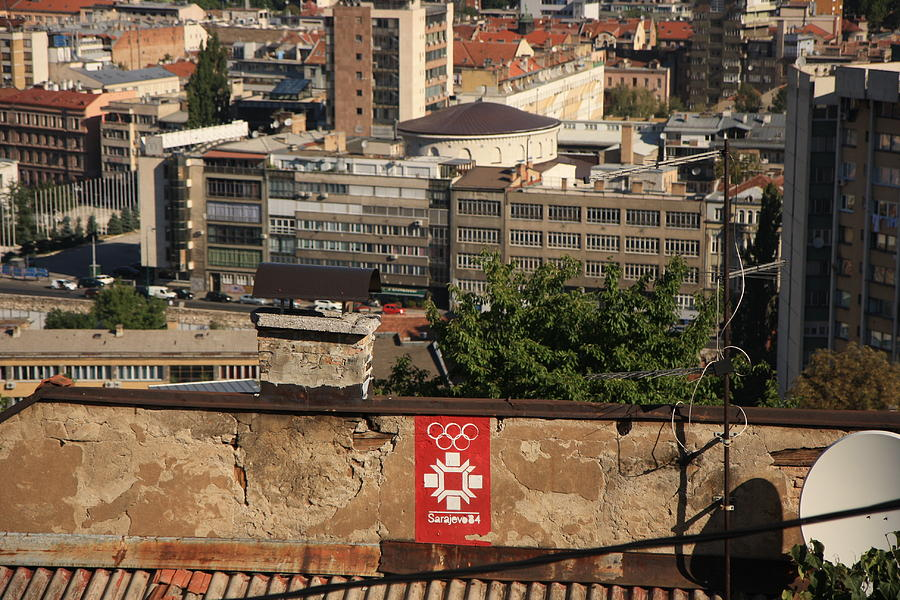 Sarajevo Photograph - Moment Of Glory by Frederic Vigne
