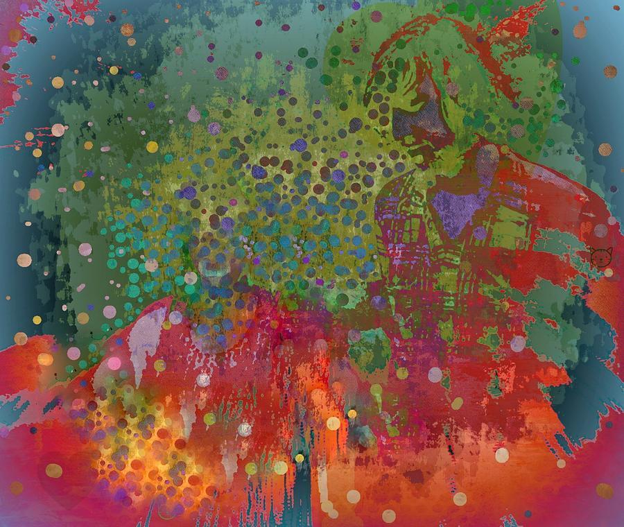 Love Mixed Media - Moment by YoMamaBird Rhonda