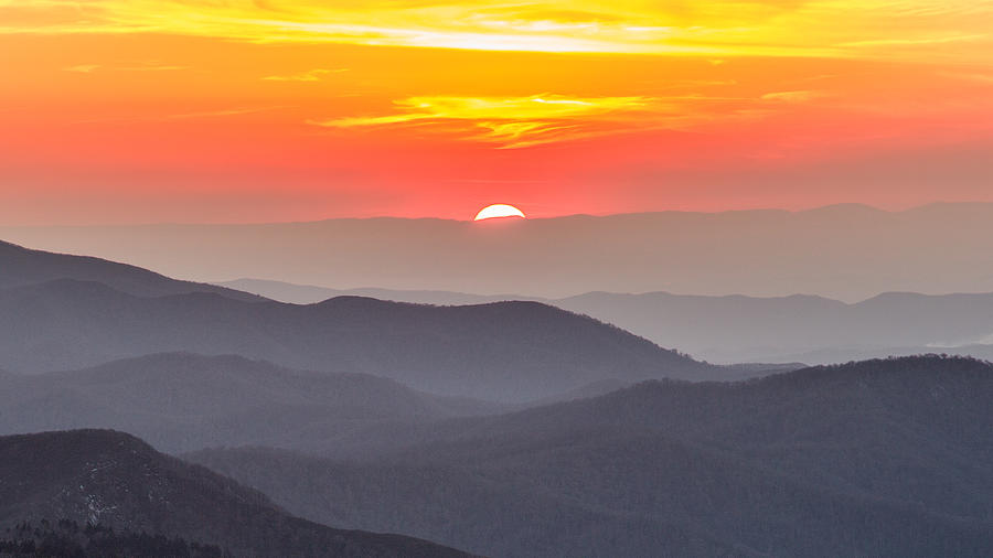 Landscape Photograph - Moms Sunset by Johnny Crisp
