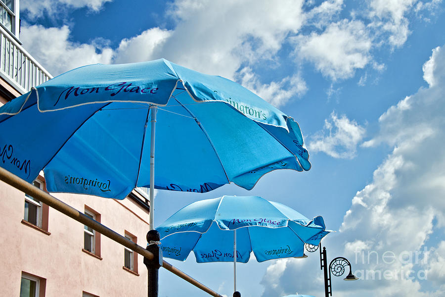 Umbrellas Photograph - Mon Glace  by Susie Peek