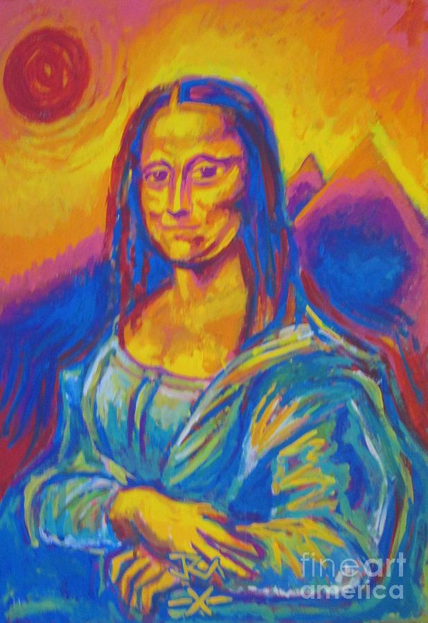 Mona Painting by Jedidiah Morley