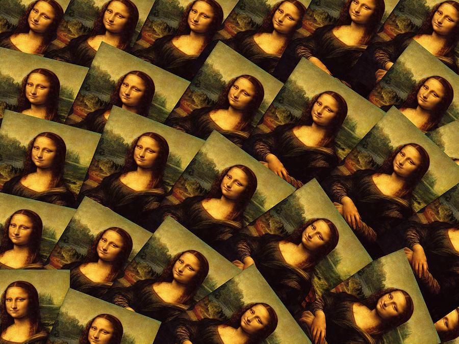 Mona Lisa Photograph - Mona Lisa by Moshfegh Rakhsha