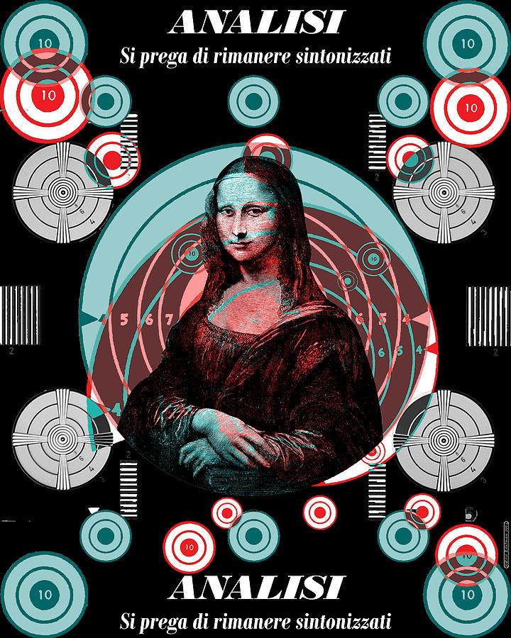Mona Tv Test Pattern Digital Art