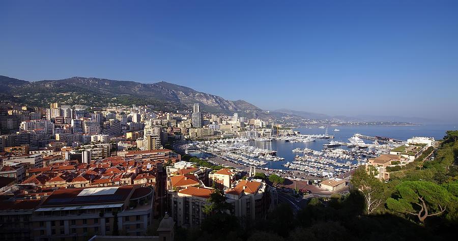 Azur Photograph - Monaco by Ioan Panaite