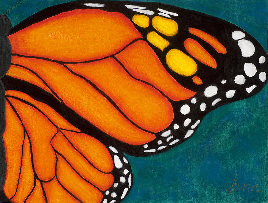 Butterfly Painting - Monarch by Dana Strotheide