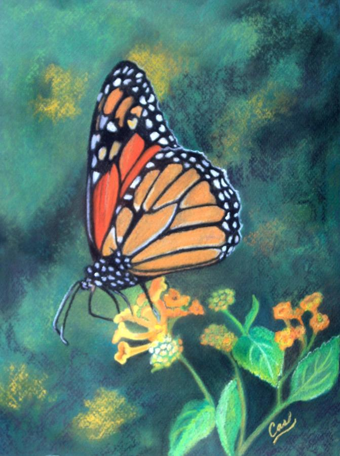 Butterfly Painting - Monarchy  by Karen Casciani