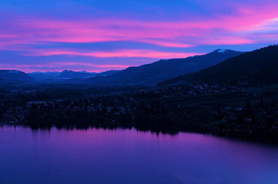 Okanagan Photograph - Monashee Rise by Rod Sterling