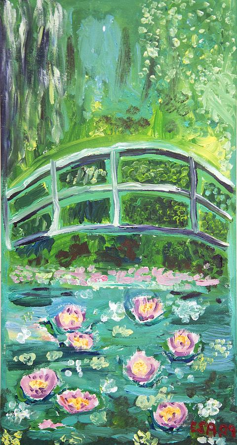bridge over a pond of water lilies Bridge over a pond of water lilies giclee print by claude monet find art you love and shop high-quality art prints, photographs, framed artworks and posters at artcom 100% satisfaction.