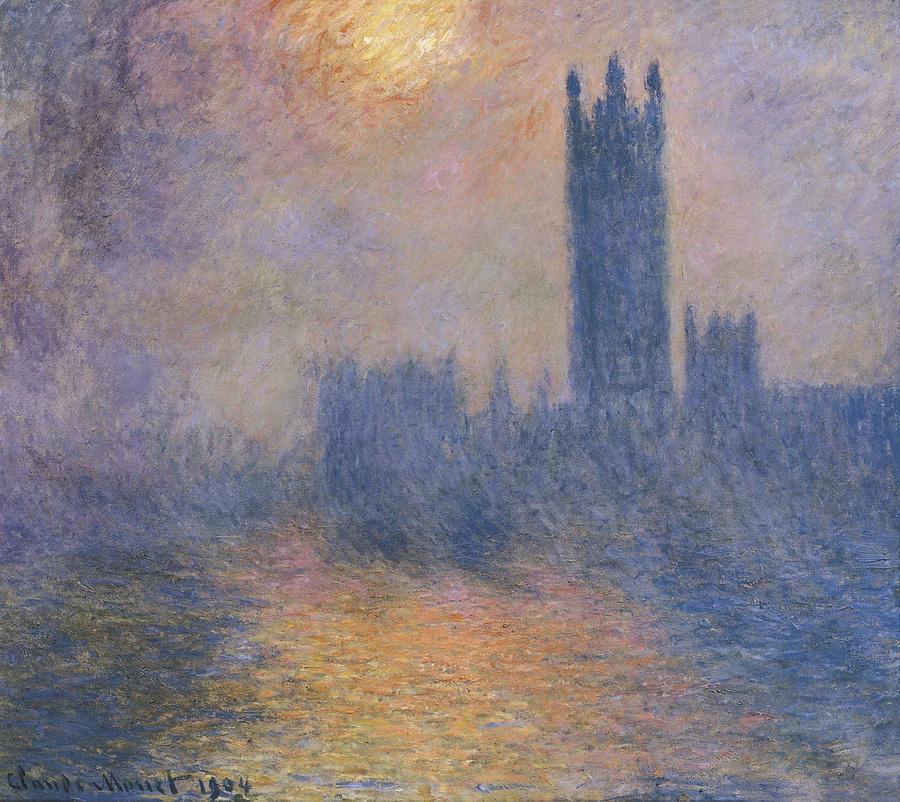 Horizontal Photograph - Monet, Claude 1840-1926. The Houses by Everett