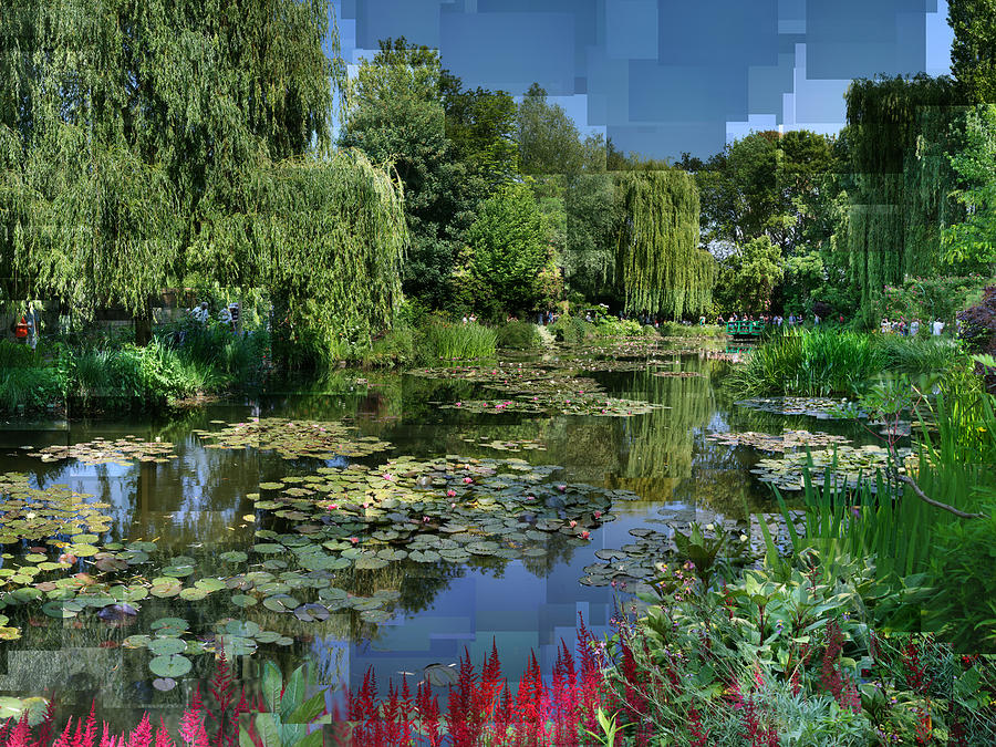 Monet Photograph - Monets Lily Pond At Giverny by Stephen Farley