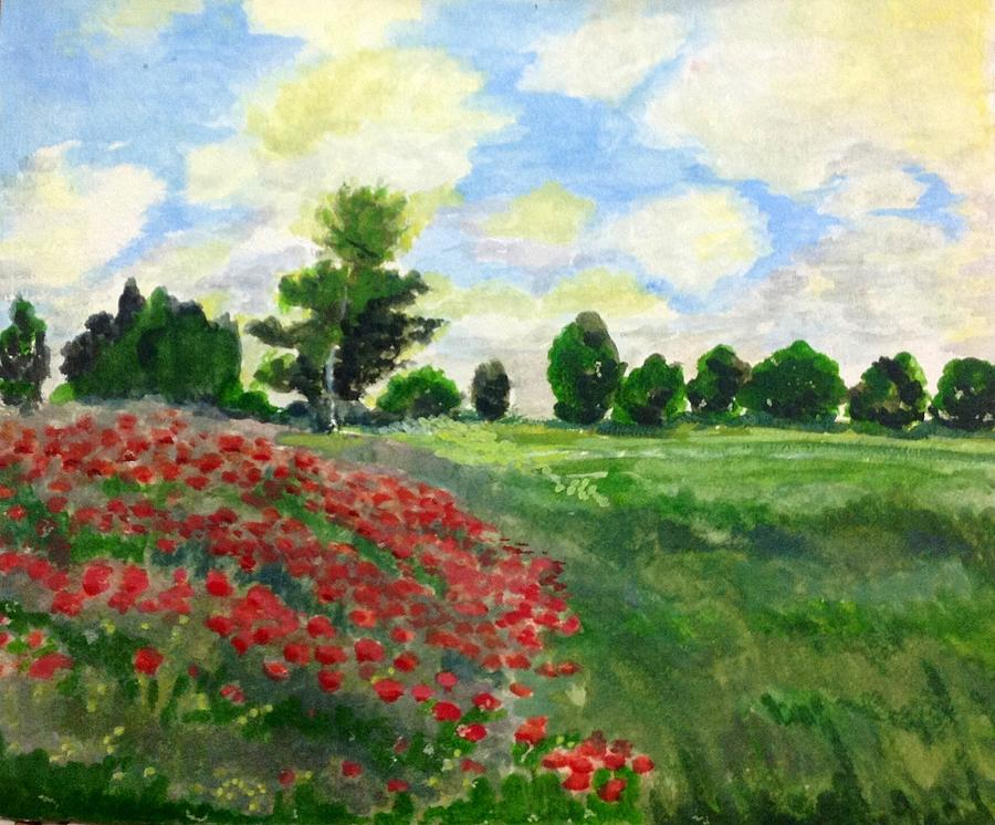 an analysis of the artwork poppy field by monet While living in the village of giverny, claude monet created hundreds of paintings on the anniversary of his death on december 5, 1926, we offer a tour of some of the most beloved of his giverny works via @legacyobits.