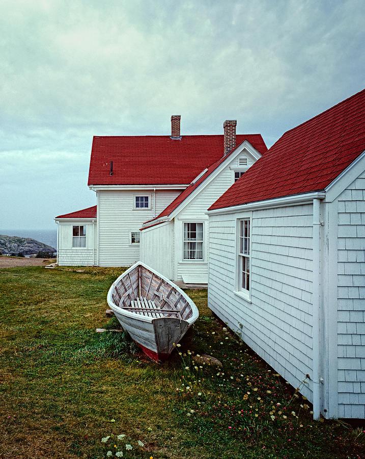 Lighthouse Photograph - Monhegan Island in Maine by William Britten