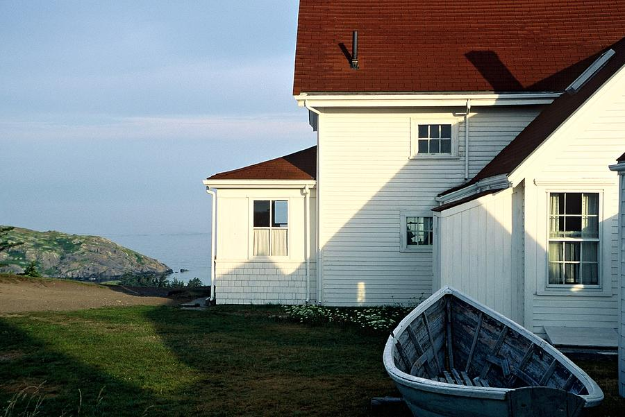 Monhegan Museum - Hopper-like by AnnaJanessa PhotoArt