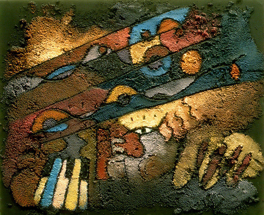 Piano Music Painting - Monicas Music by Ross Drago
