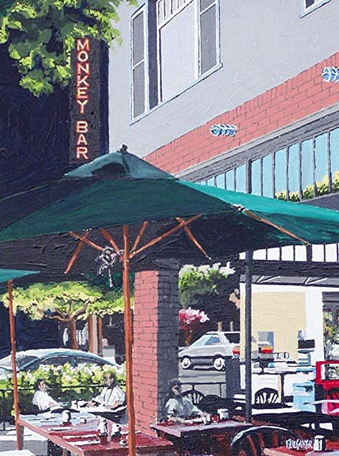 Sacramento Painting - Monkey Bar by Paul Guyer