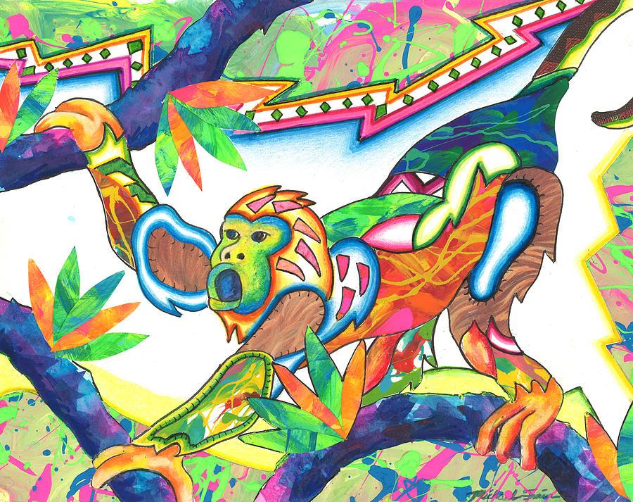 Machumba - Monkey by Michael Andrew Frain