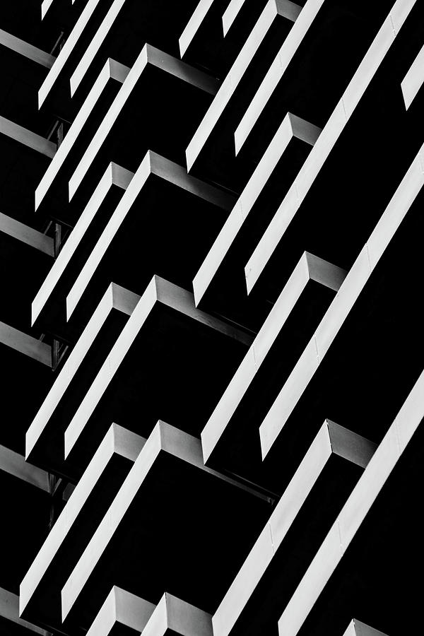 Monochrome Architectural Details Photograph by Marcia Straub