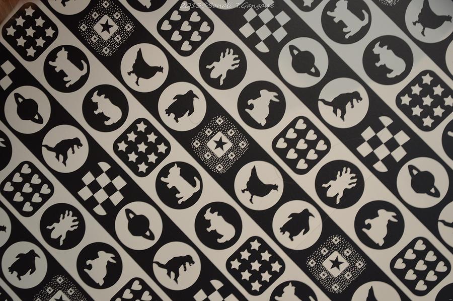 Black And White Photograph - Monochrome Mosaic by Sonali Gangane