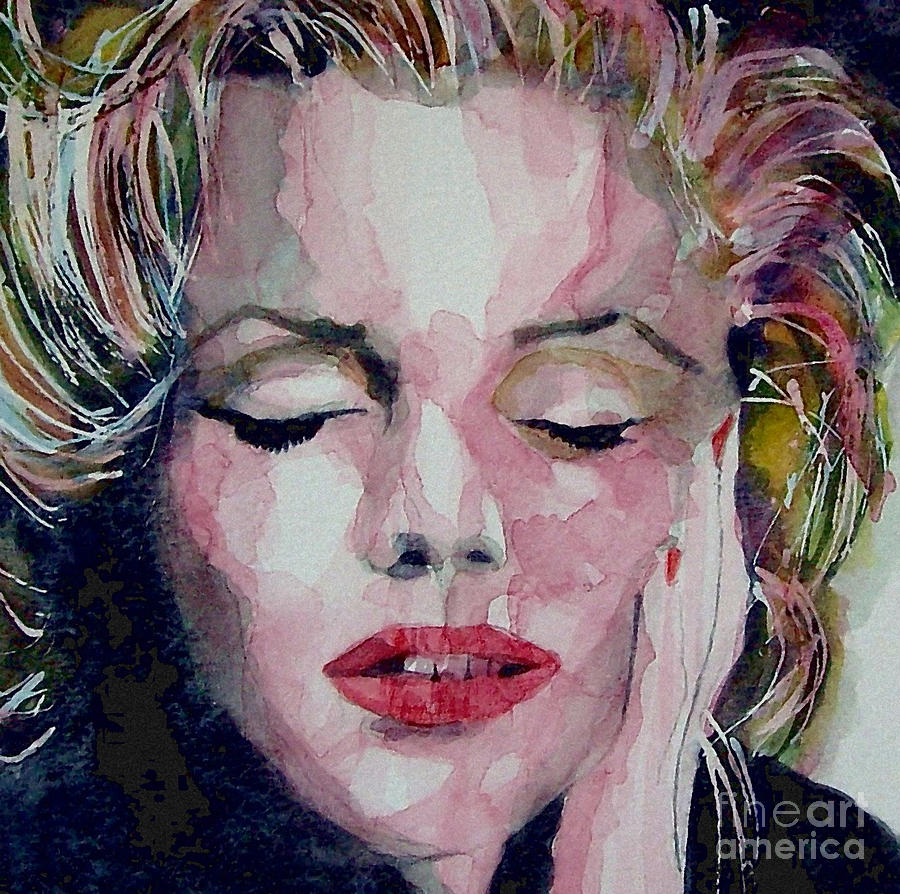 Marilyn  Monroe  Painting - Monroe No 6 by Paul Lovering