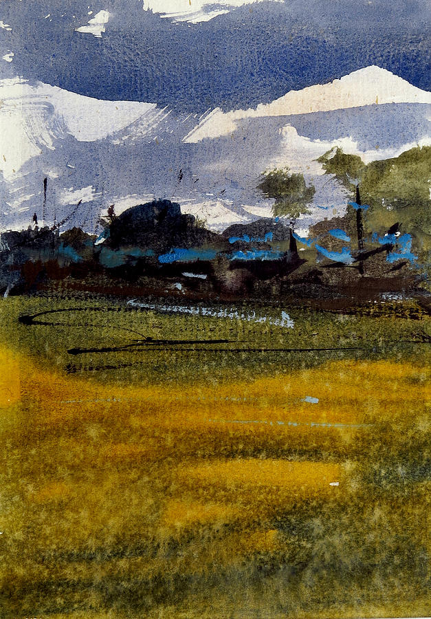 Monsoon 2 Painting by Amit Patel