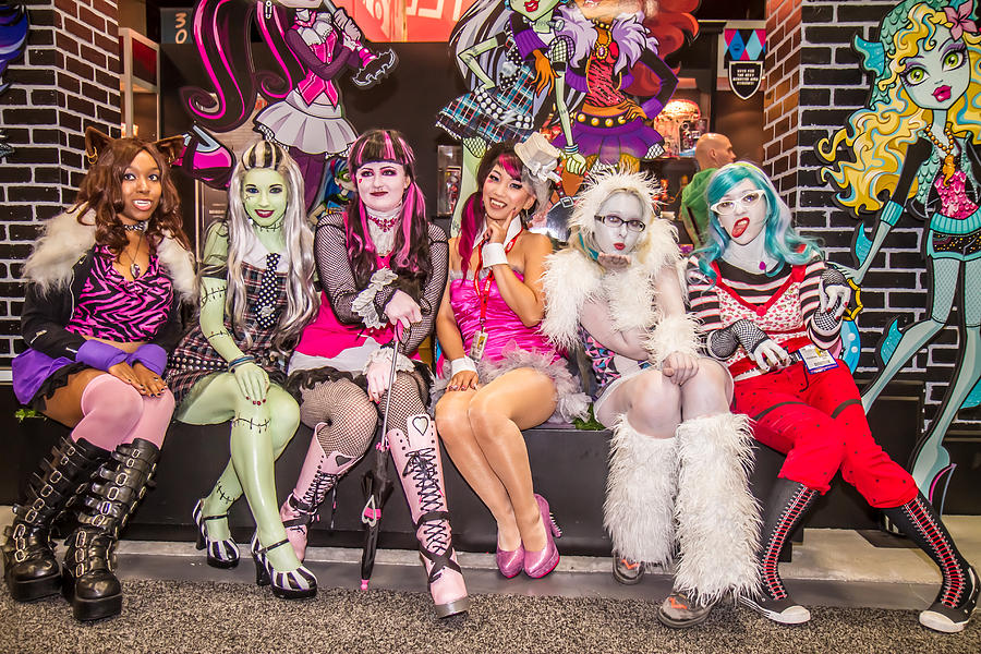 Comic Con Photograph - Monster Girls  by Andreas Schneider