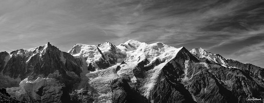 Mountain Photograph - Mont Blanc Massif by Camilla Brattemark