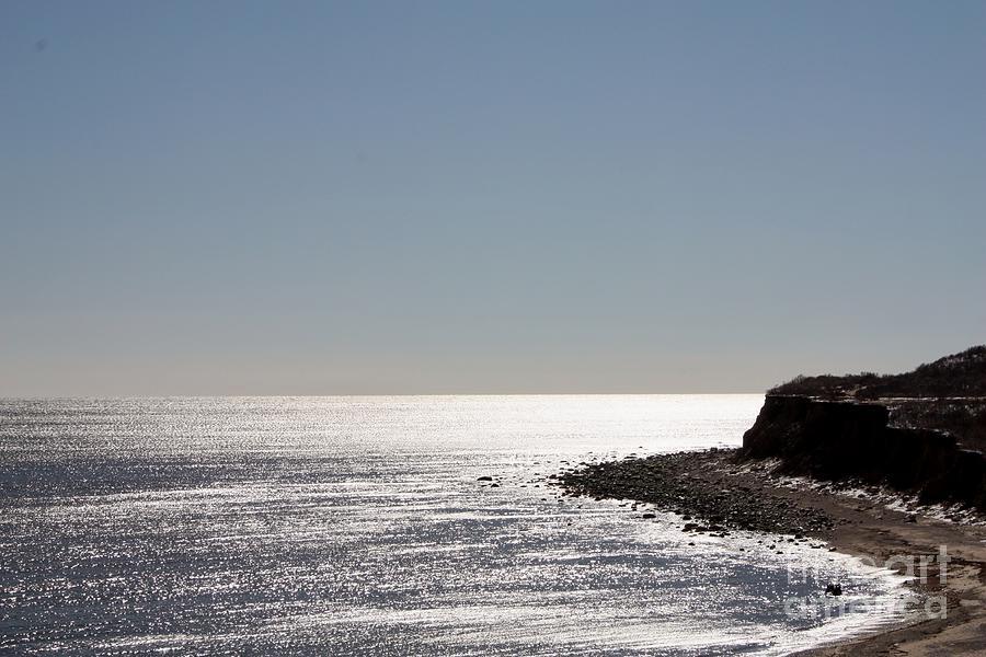 Telfer Photograph - Montauk Beach And Bluff by John Telfer