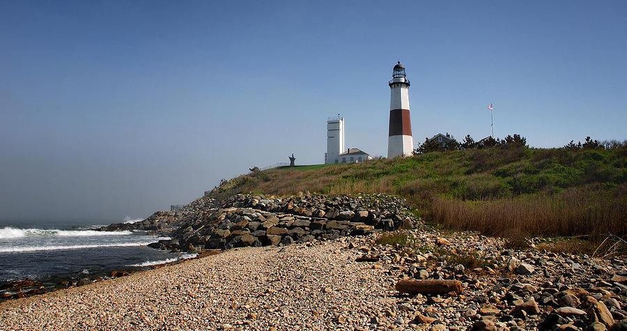 Montauk Photograph - Montauk Lighthouse by Alida Thorpe